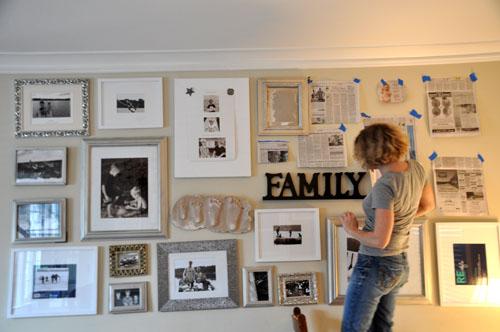 family wall homecoming susiej