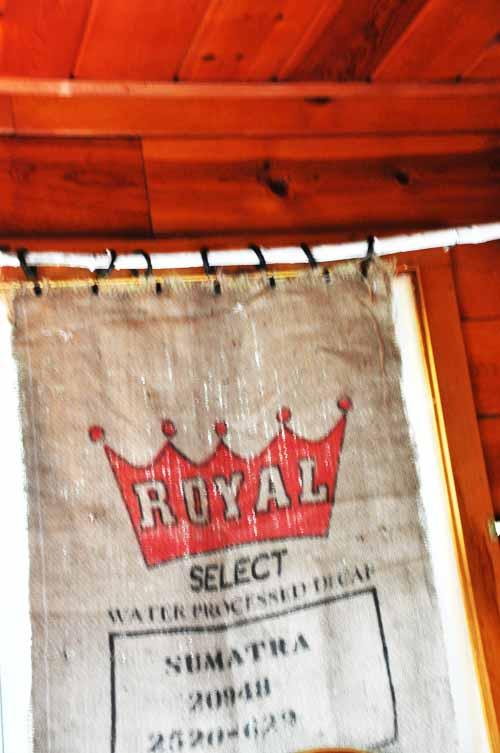 Curtains Ideas burlap sack curtains : Burlap Coffee Bag Curtains - Curtains Design Gallery