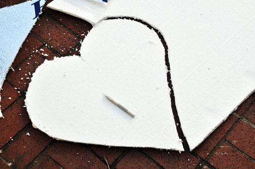 felt valentine hear wreath001