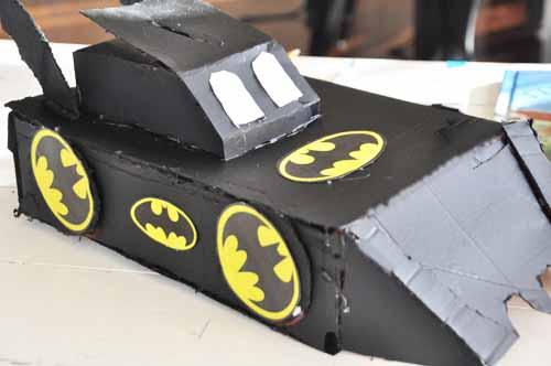 Batmobile Valentine Box002
