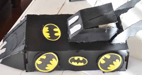 Susiej  The Batmobile Valentine Box The COMPLETED Creative