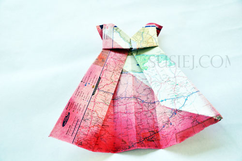 Susiej Make Yourself This Little Origami Dress