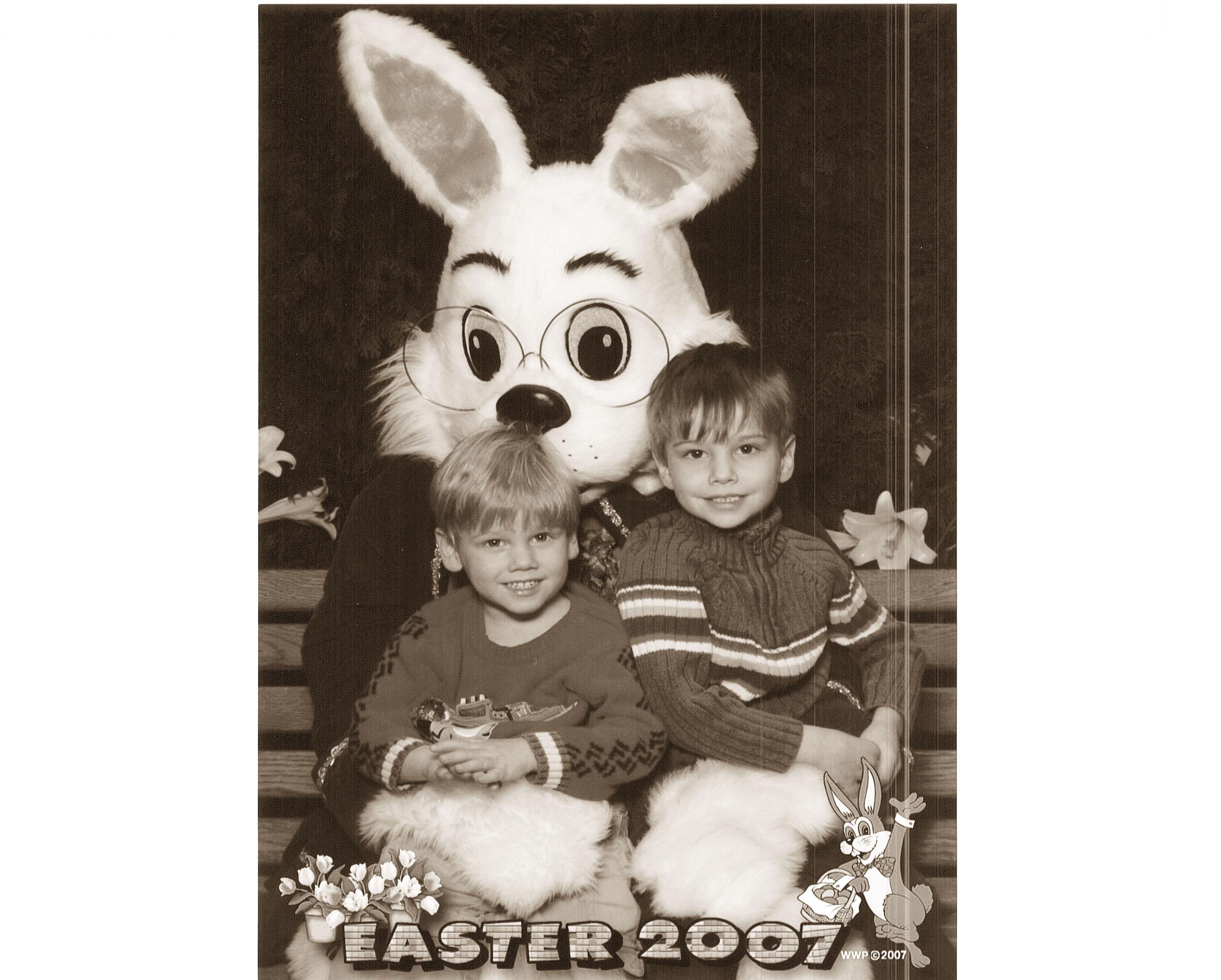 bunny garland001